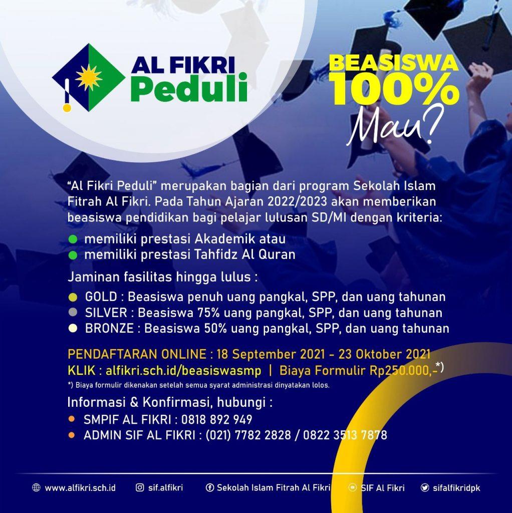 Alfikri Peduli SMP Part 001